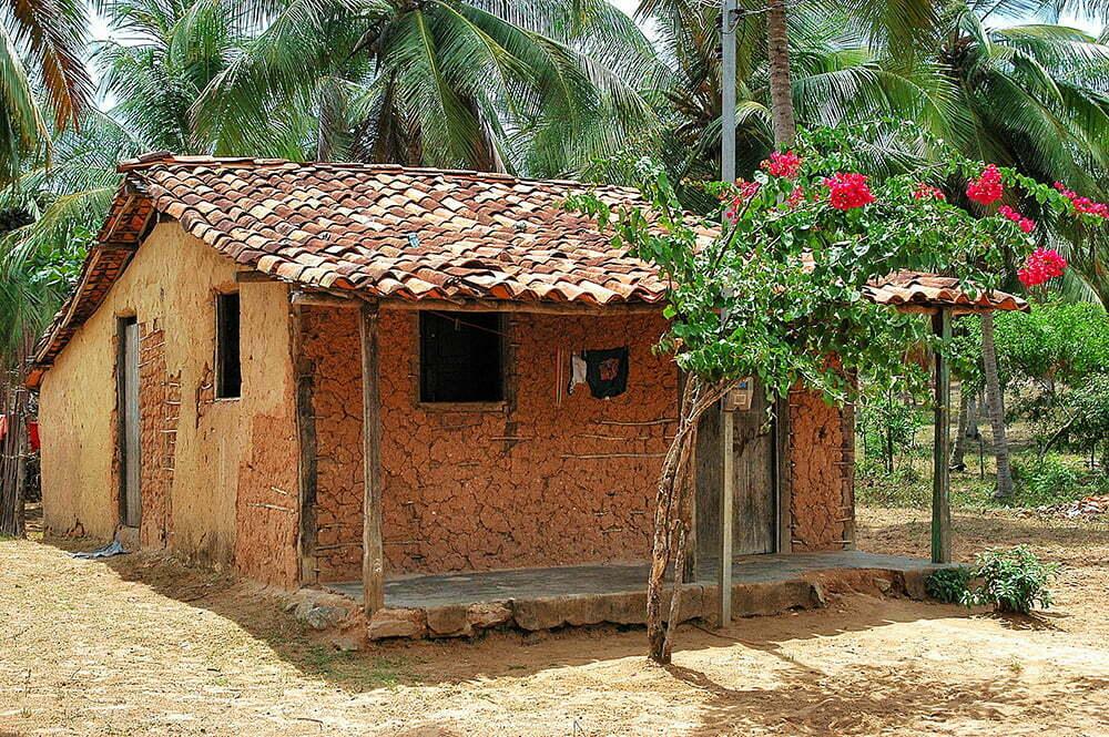 imagem de Casa de pescador, litoral de Sergipe do diário de bordo Litorais de Alagoas e Sergipe