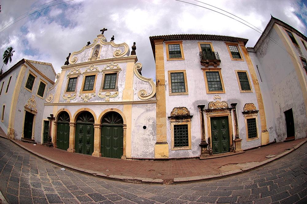 imagem de convento em Olinda