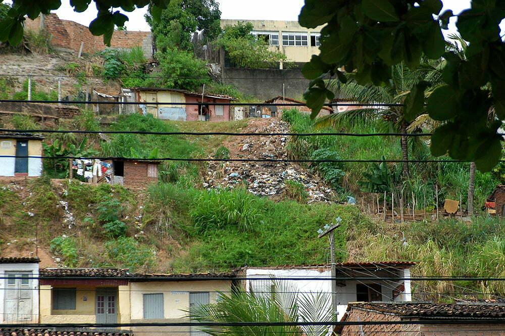 imagem de favelas nas lagoas de Maceió do diário de bordo Litorais de Alagoas e Sergipe