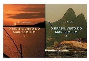 capa dos livros brasil visto do mar sem fim