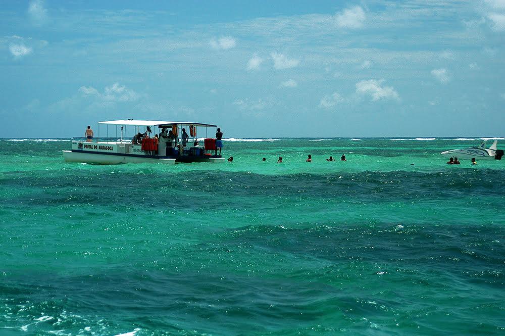 imagem da lagoas de Paripuera do diário de bordo Litorais de Alagoas e Sergipe