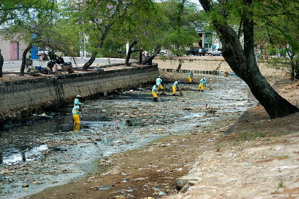 imagem do rio Salgadinho, Maceió
