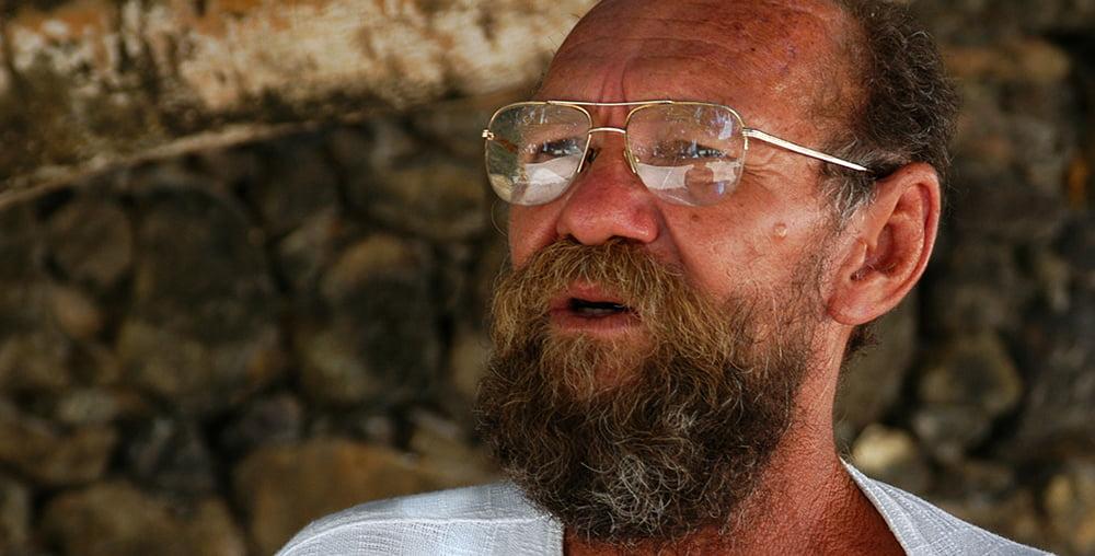 imagem de Zé Amaro, guardião do forte orange, litoral de Pernambuco