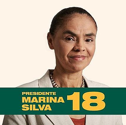 imagem de marina silva ao defender Propostas ao meio ambiente dos presidenciáveis