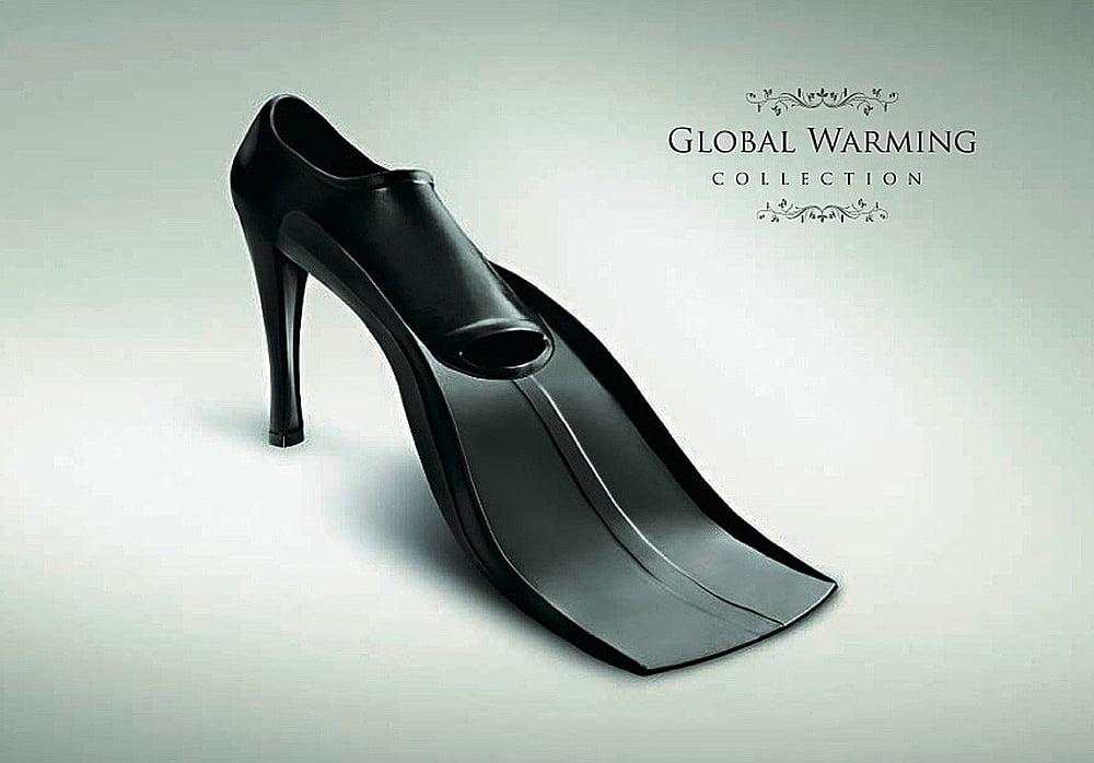 imagem de sapato de salto alto eww forma de pé de pato