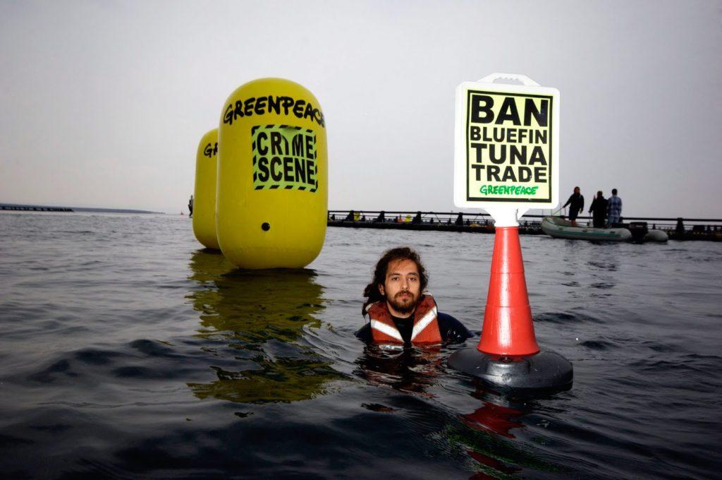 Image e protesto ambientalista