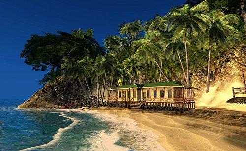 imagem da ilha de cocos, costa rica