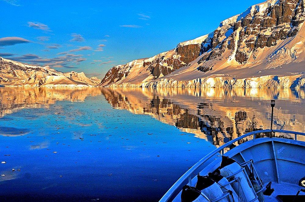 imagem da antártica