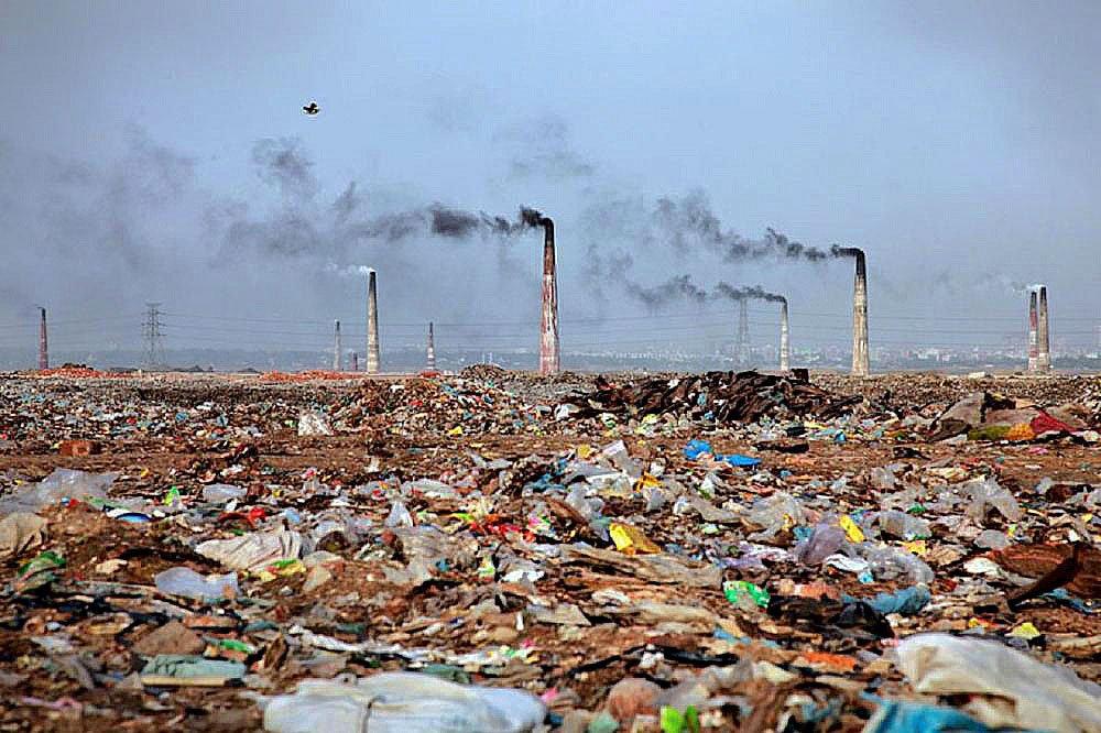 imagem de poluição