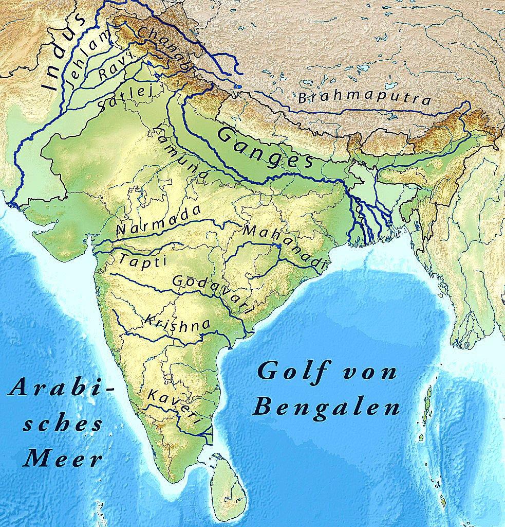 imagem de mapa da índia