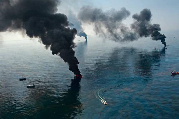 imagem de poluição marinha