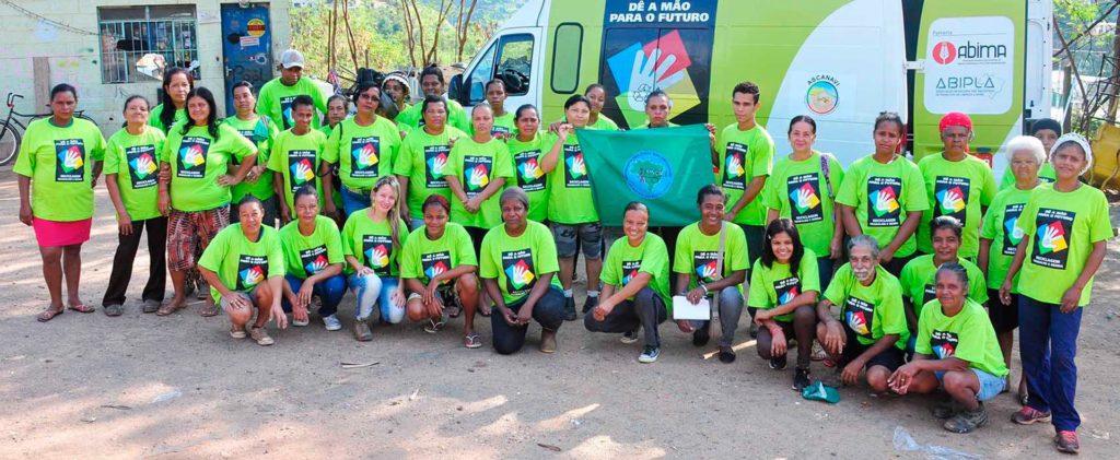 imagem da Associação dos Catadores de Materiais Recicláveis Natureza Viva