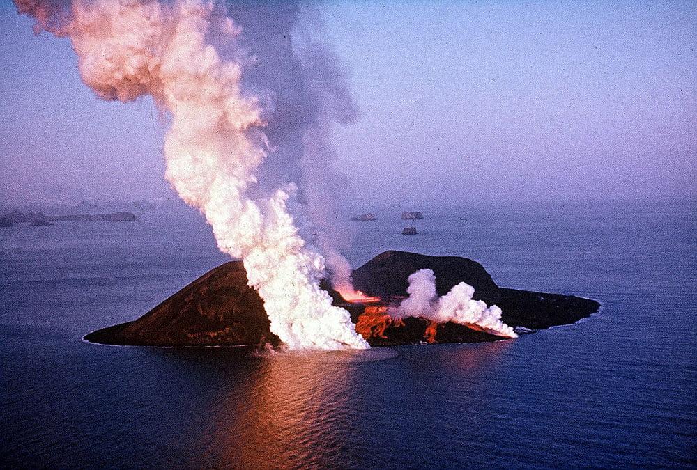 imagem da ilha