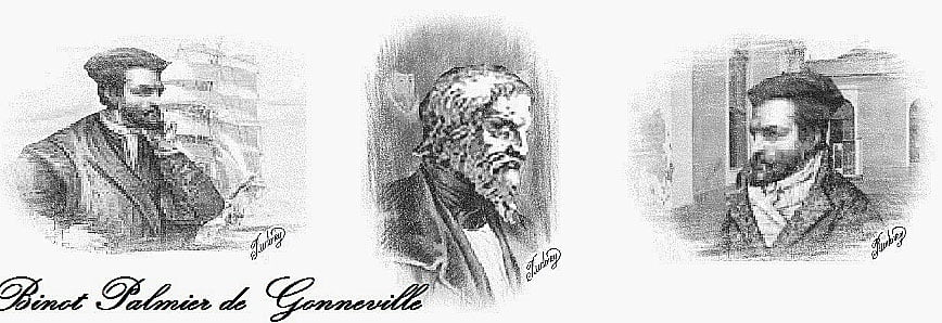 desenho de Binot Paulmier de Gonneville