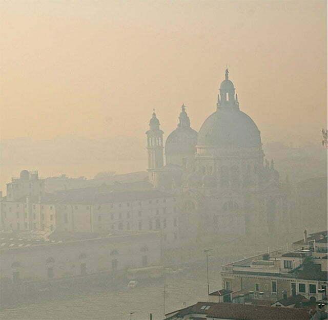 imagem de Veneza e seus canais