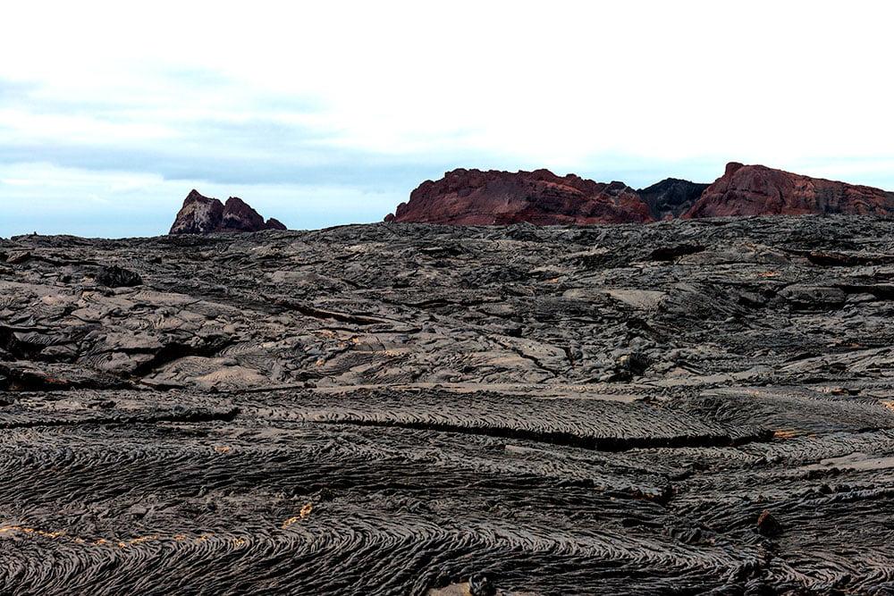 imagem do chão do arquipélago de galápagos