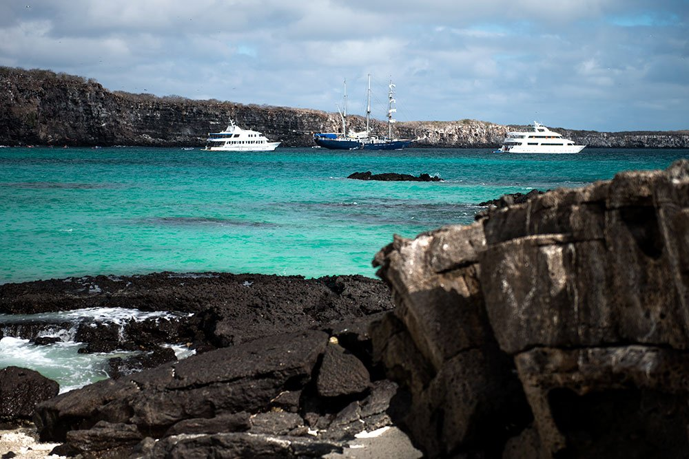 imagem de piscina em galápagos