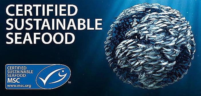 imagem do selo de sustentabilidade da Marine Stewardship Council