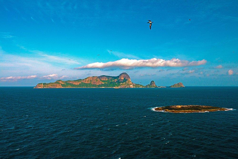 imagem do Arquipélago de Alcatrazes reaberto ao público