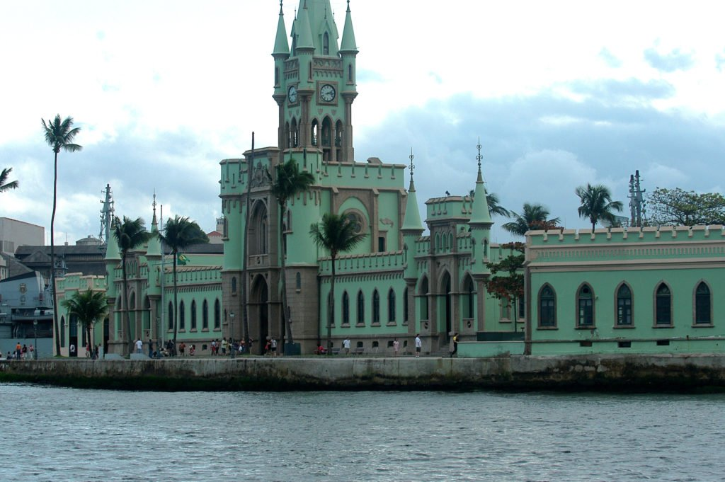 imagem da ilha Fiscal RJ