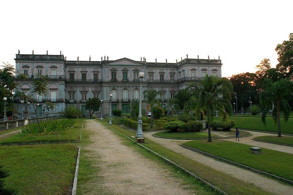 imagem da Quinta da Boa Vista.