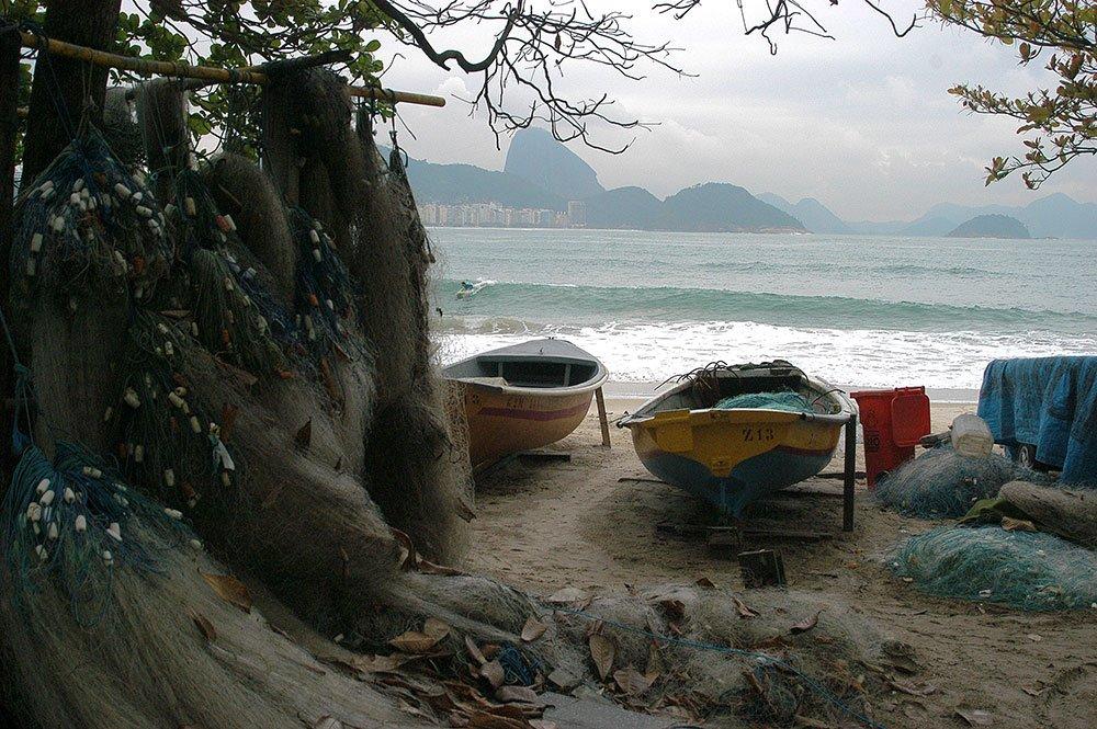imagem da Colônia de pescadores do Posto Seis.