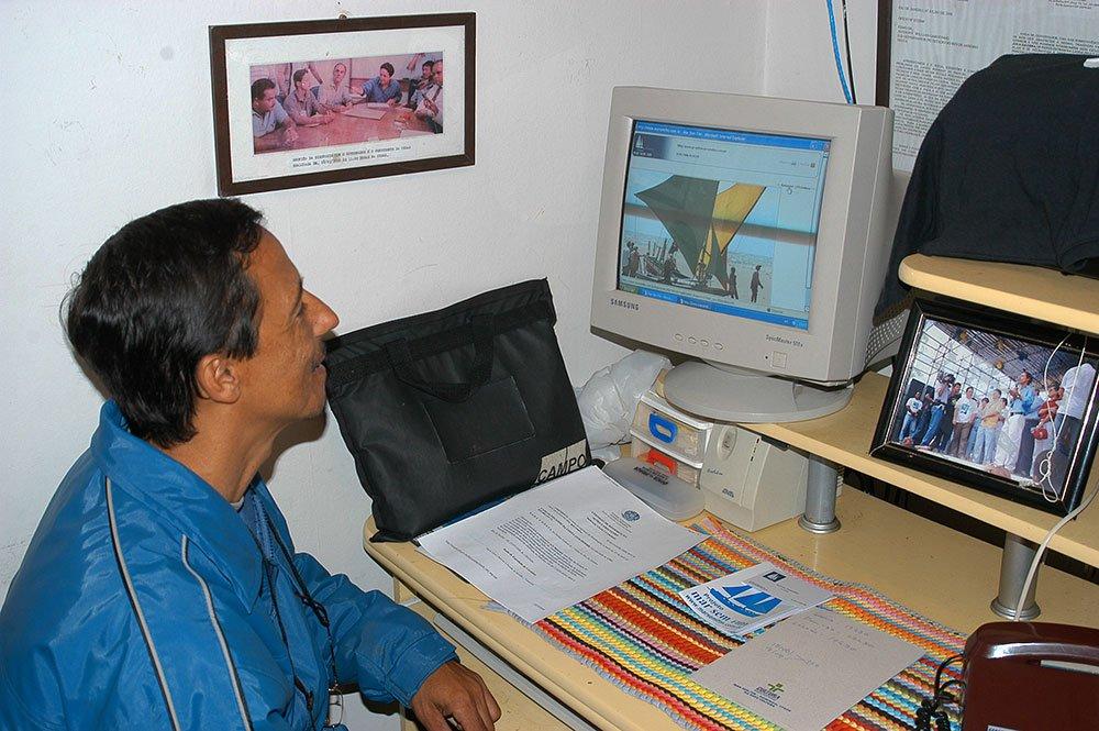 imagem do pescador carioca ricardo mantovani
