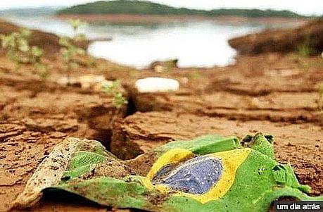 imagem da destruição da Nova barragem da Vale se rompe