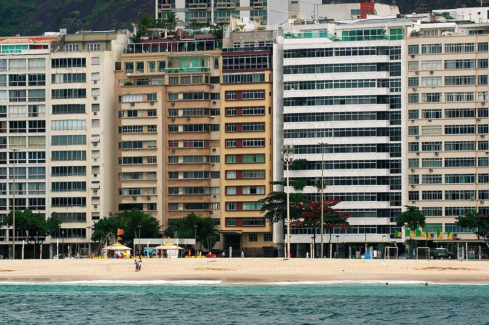 imagem de prédios em Ipanema