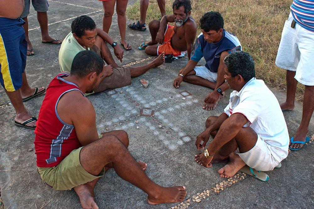 imagem de Jogos de pescadores, Camocim, CE.