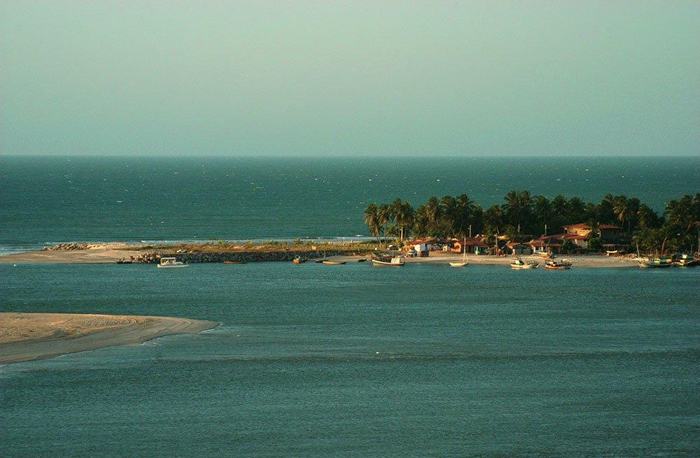 imagem da Pitoresca vila de Mundaú.