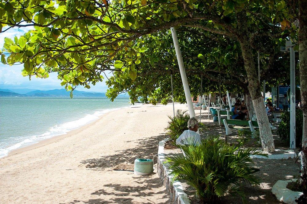 imagem de Praia do Ribeirão da Ilha, SC