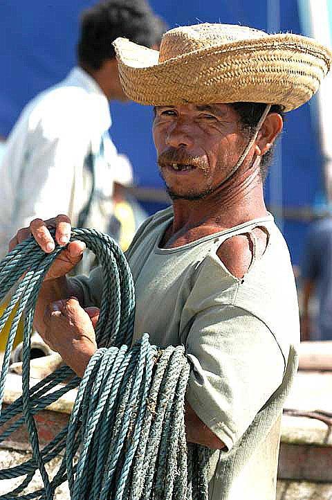 imagem de pescador