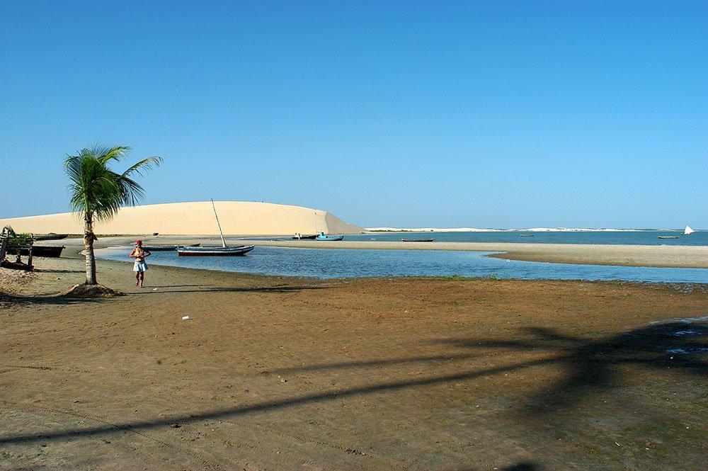 imagem da Praia de Jericoacoara