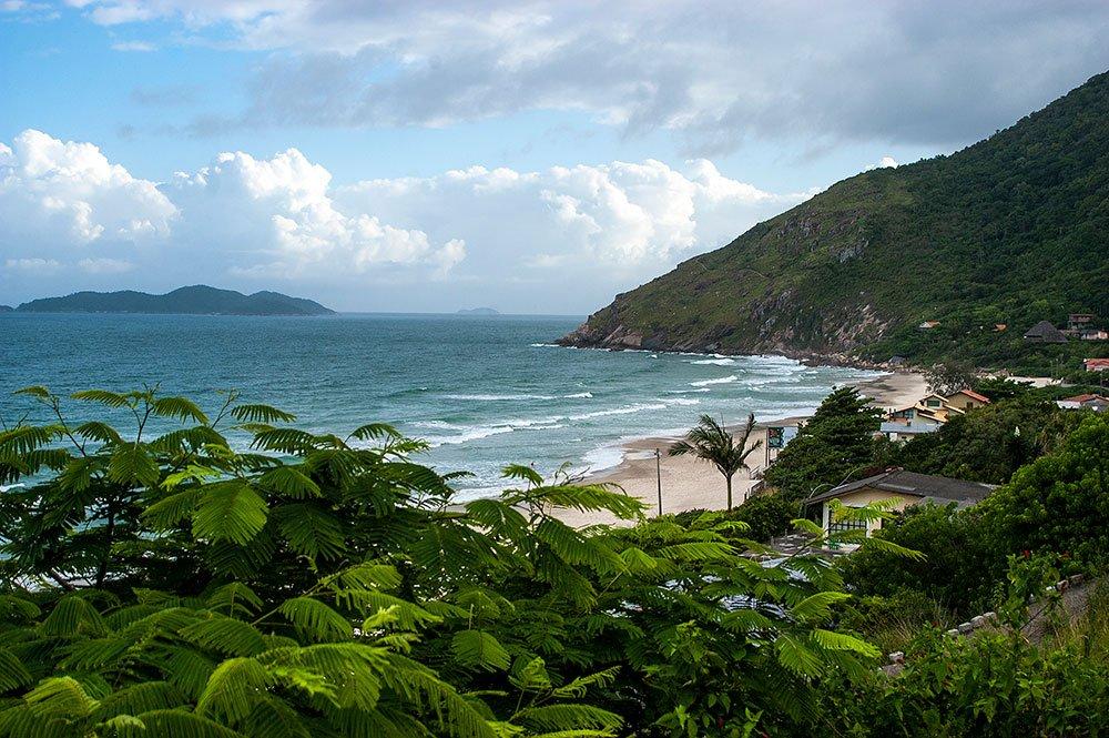 imagem da praia da Solidão, SC