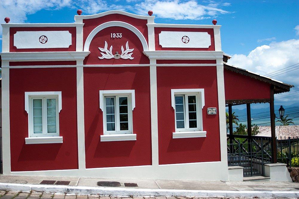 imagem de Casario antigo do Ribeirão da Ilha.
