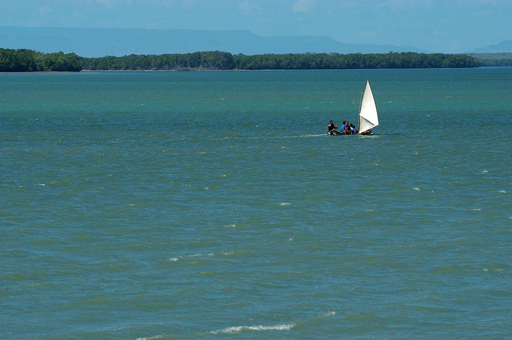 imagem do Estuário dos rios Ubatuba e Timonha, Piauí