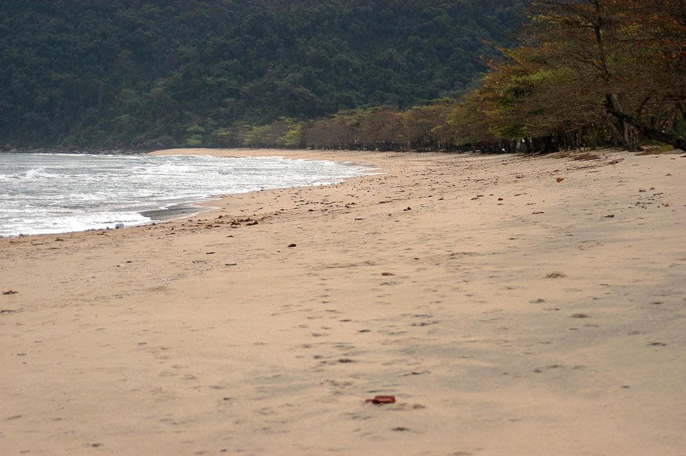 imagem da Praia do Sono.