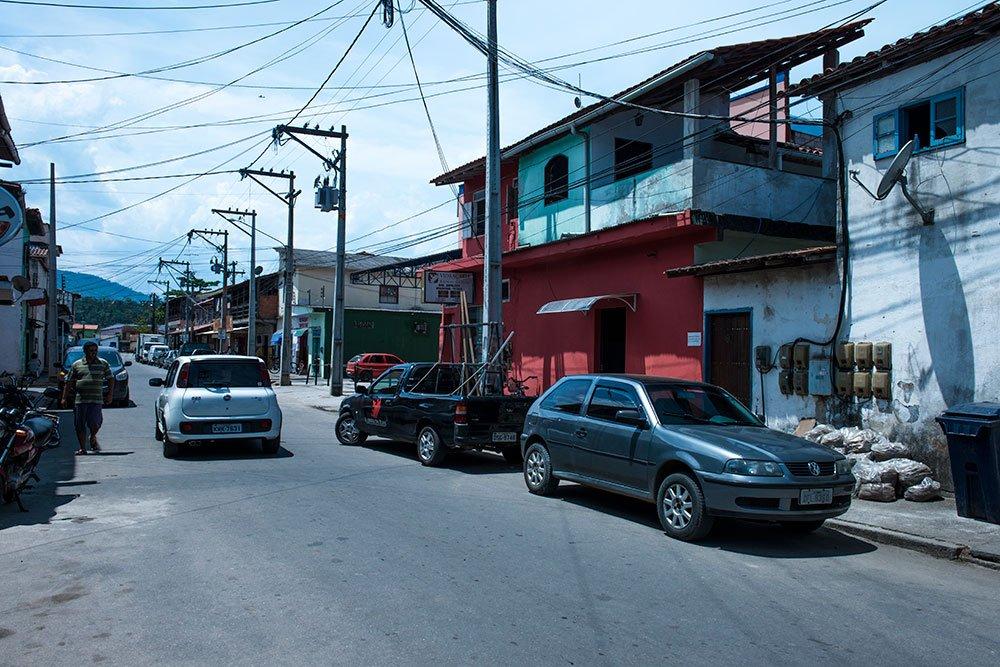 Imagem da vila de Trindade