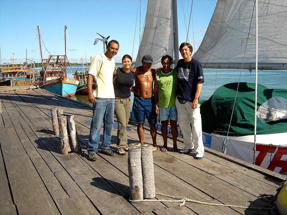imagemde tripulação do mar sem fim em Luis Correia