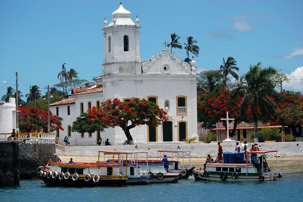 imagem da ilha de Bom Jesus.