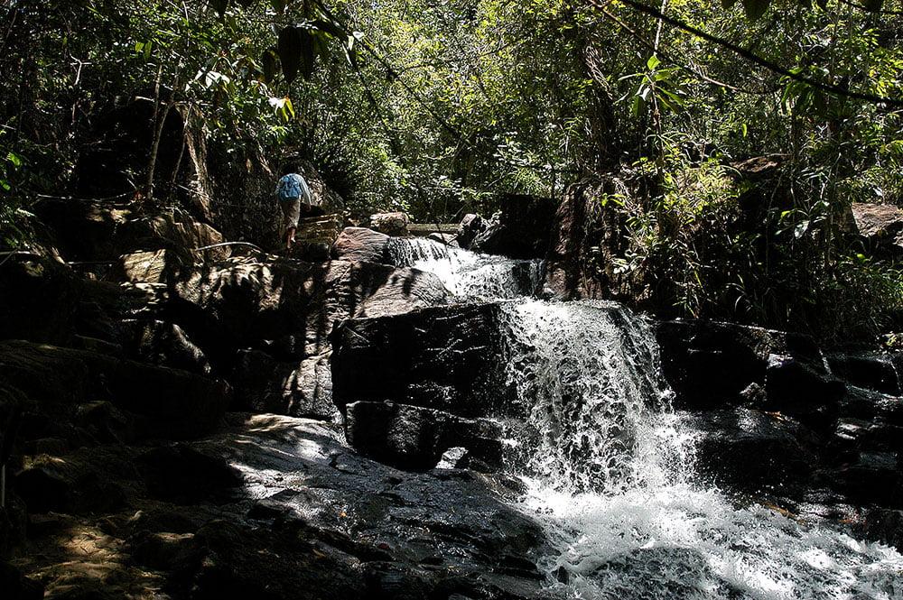 imagem de cachoeira em Itacaré