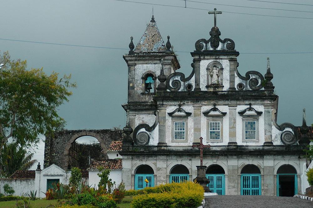 imagem do onvento Santo Antonio, Cairu, BA