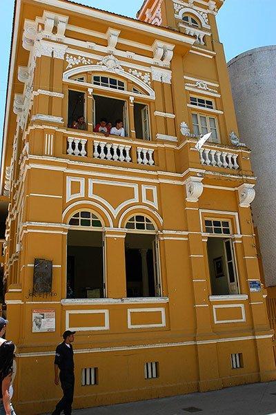 imagem da Casa onde nasceu Jorge Amado, Ilhéus