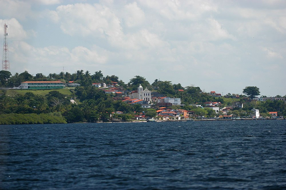 Imagem de Maraú, na baía de câamamu