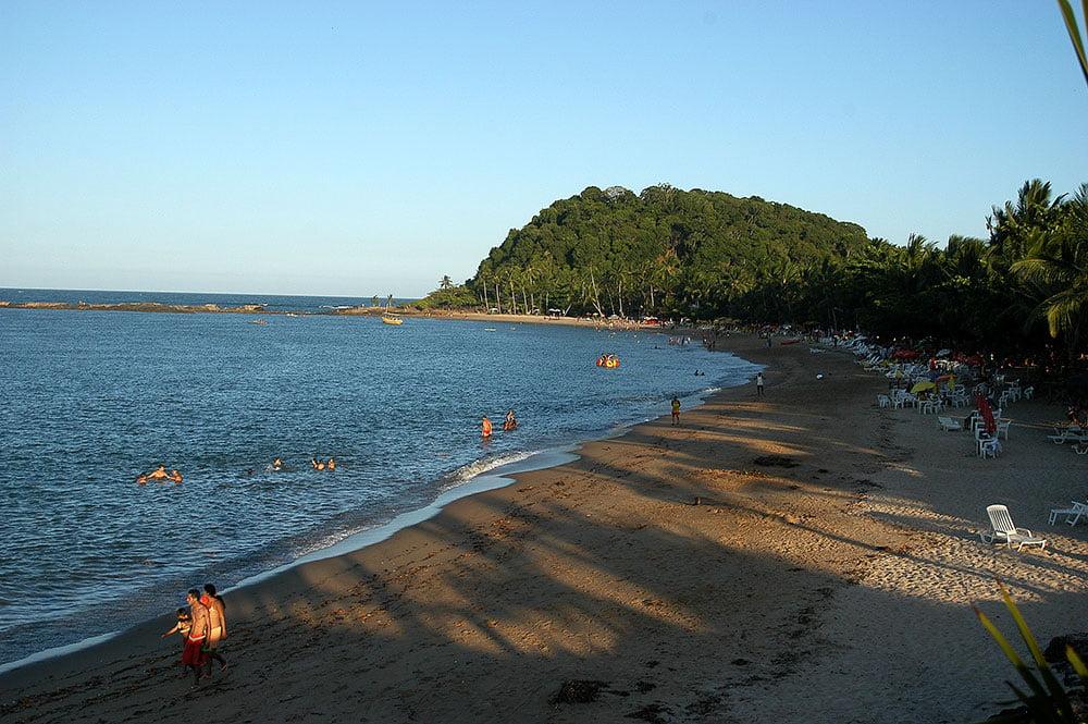 imagem de praia em Itacaré