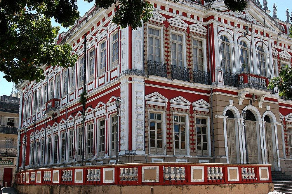imagem de Casarão onde fica a prefeitura de Ilhéus.