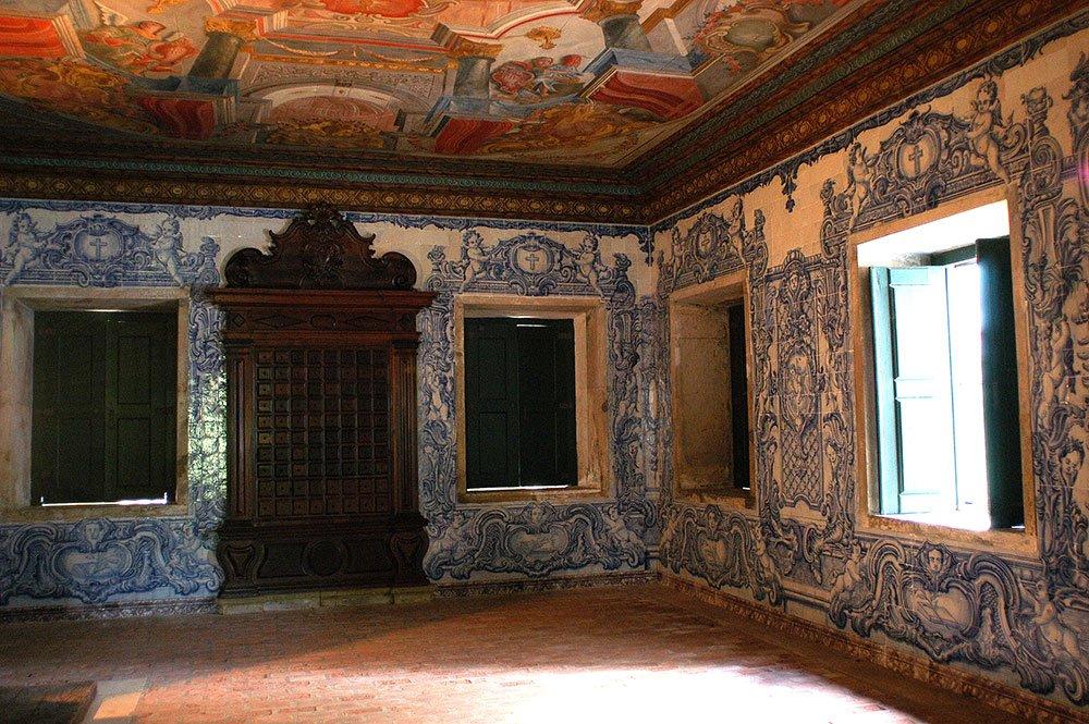 image do interior do convento santo antonio, em cairu, etapa Litoral de Salvador a ilhéus