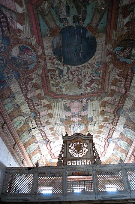 imagem do teto do convento de santo antônio