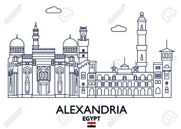 ilustração de Alexandria